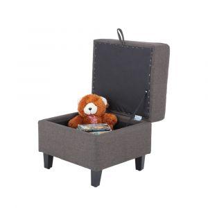 COLLO/L Fabric stool 1/S #KF14001-4 BN