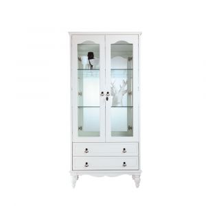ANASTASIA/D Show cabinet/2 80 WT