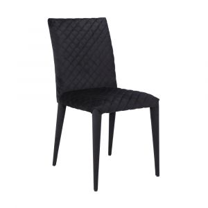 BRYGHT Fabric dining chair BK