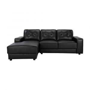 Sofa Góc L/Phải RALPH Màu Đen