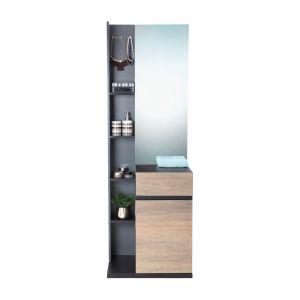 HARSH -P Stand dresser 60cm BKBN/CMO