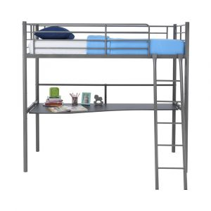H-SIMBI Bed 3'+Desk top GY