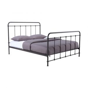 LOFTER Steel Bed 6 FT. BK