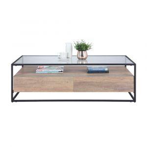 GRUFF -P Coffee table 120cm CMO/BK