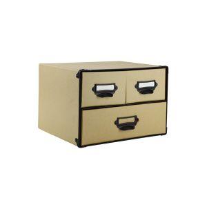 CARGO 3 Drawer Horizontal box