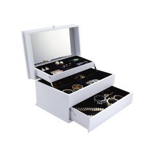 FAVEL Jewelry box 3 tiers WT
