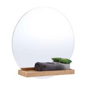 ELME Wall mirror with shelf NA