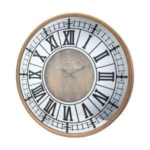 JILLITALUN Wall clock 26.8'' NA/BK