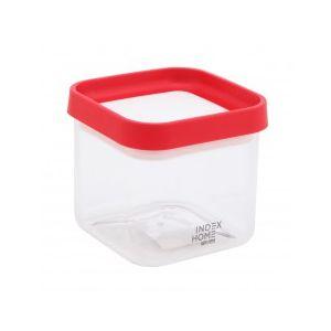 CABO Hộp Nhựa 11x11x10 cm Màu Đỏ
