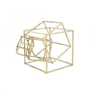 CUBIX Square sculpture 25x30x21cm BS