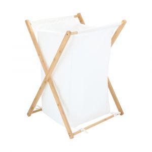 LAUNRA Laundry basket 47x39x67 cm. WT/NT