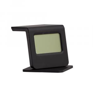 LEWIN Alarm clock 10.5x7.1x5cm BK