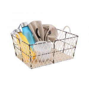 BODEN Basket 36x28x16 CR/BN