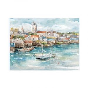 BROOKLIN Canvas print 90x60x2.5cm MTC