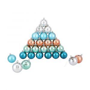 GLAMOUR Ornament balls 30 pcs/set MTC