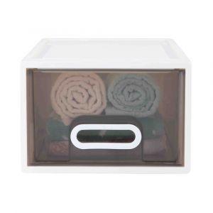 BRICKER Storage drawer 19L WT/GY