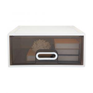 BRICKER Storage drawer 25L WT/GY