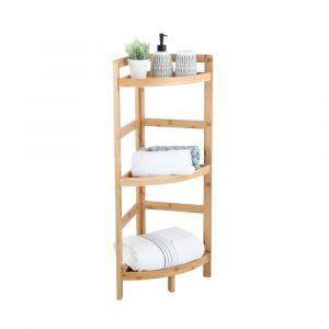 ELVIDA 3-Tier Corner shelf 29x29x85 NT