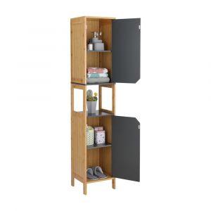 BRITTY Bath cabinet 32x30x160 NT/GY
