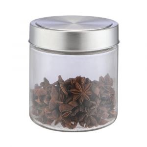 TOMII Canister with lid 800ml CG/SV