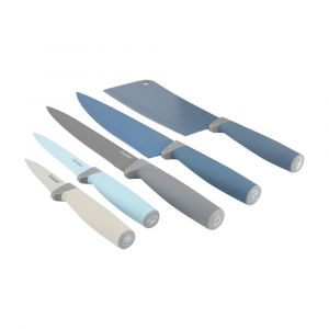 RIKEN Knife set with stand 6 pcs/set MTC