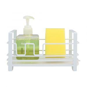 DONTE Sponge holder w/draining tray WT