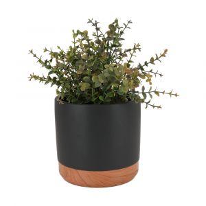 HESPER Plant pot D16.5xH15.5 BK/NT
