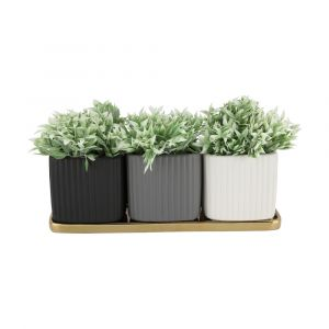 HANA Plant pot 4 pcs/set 32x10.5x11 MTC