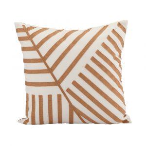 GRAPHY-LINE Cushion 45x45cm BN/WT