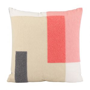 BLOCKING-LABY Cushion 45x45cm MTC