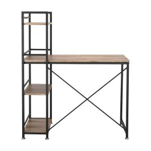 CONNER Multi working table 100cm. BN/BK