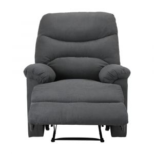 RILEY Fabric manual recliner 1/S GY