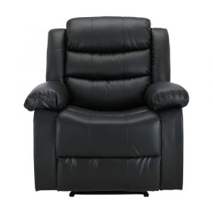 LEMMA PVC manual recliner 1/S BK