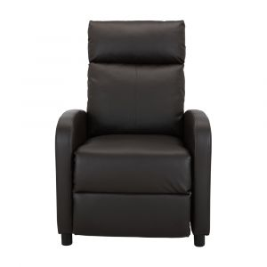 FLINT PVC push back recliner 1/S DBN
