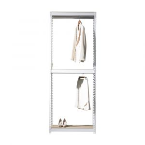 SMART SHELF Wardrobe frame 2bars WT