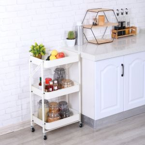 JAPANEAT 3-Tier foldable cart WT
