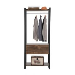LOFTER Clothes rack+drawer 80 CM CNM